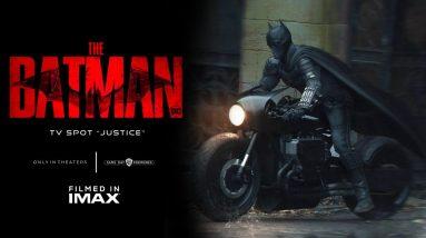 """THE BATMAN TV Spot """"Justice"""" HD (NEW 2022 Movie)"""